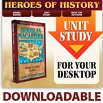 HEROES OF HISTORY<br>DOWNLOADABLE Unit Study Curriculum Guide<br>Douglas MacArthur
