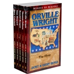 HEROES OF HISTORY<br>5-Book Gift Set<br>Books 16-20