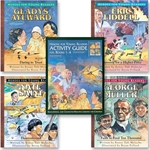 HEROES FOR YOUNG READERS<br>Activity Package<br>For books 1-4