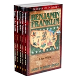 HEROES OF HISTORY<br>5-book Gift Set<br>Books 11-15