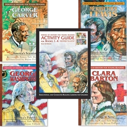 HEROES OF HISTORY FOR YOUNG READERS<br>Activity Complete Pack for books 1-4