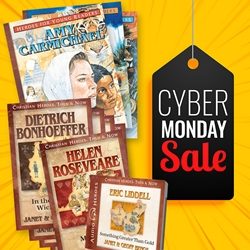 CYBER MONDAY 2014<br>Great books about God and country!