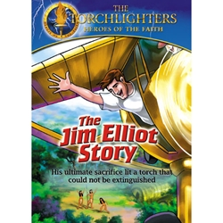 THE JIM ELLIOT STORY - DVD<br>His Ultimate Sacrifice Lit a Torch That Could Not Be Extinguished