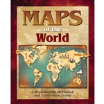 MAPS OF THE WORLD<br>A Reproducible Workbook and Curriculum Guide