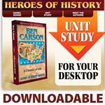 HEROES OF HISTORY<br>DOWNLOADABLE Unit Study Curriculum Guide<br>Ben Carson