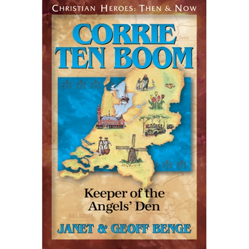 55713a6f7337e YWAM Publishing - CHRISTIAN HEROES  THEN  amp  NOW lt BR gt Corrie ten  Boom  Keeper of the Angels  39  Den