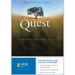 NIV QUEST STUDY BIBLE (Hardcover)