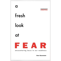 A FRESH LOOK AT FEAR<br>Encountering Jesus in Our Weakness