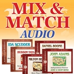 HEROES SERIES AUDIO CDs<br>MIX AND MATCH SPECIAL