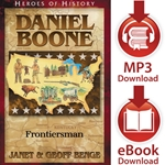 HEROES OF HISTORY<br>Daniel Boone: Frontiersman<br>E-book and audiobook downloads