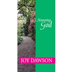 KNOWING GOD<br>A Devotional About the Character and Ways of God