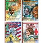 HEROES OF HISTORY FOR YOUNG READERS<br>4-book Gift Set (Books 1-4)