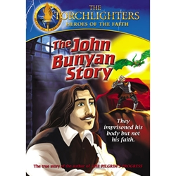 THE JOHN BUNYAN STORY - DVD<br>They Imprisoned His Body but Not His Faith