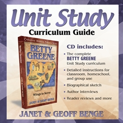 CHRISTIAN HEROES: THEN & NOW<br>CD - Unit Study Curriculum Guide<br>Betty Greene