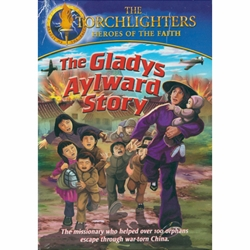 THE GLADYS AYLWARD STORY - DVD<br>The missionary who helped over 100 orphans escape through war-torn China