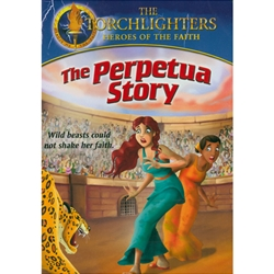 THE PERPETUA STORY - DVD<br>Wild Beasts Could Not Shake Her Faith