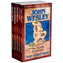 CHRISTIAN HEROES: THEN & NOW<br>5-book Gift Set (Books 31-35)