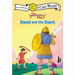 I CAN READ<br>David and the Giant<br>(The Beginner's Bible)