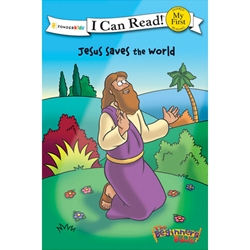 I CAN READ<br>Jesus Saves the World<br>(The Beginner's Bible)