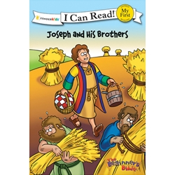 I CAN READ<br>Joseph and His Brothers<br>(The Beginner's Bible)