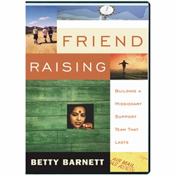 FRIEND RAISING - DVD<br>Building a Missionary Support Team That Lasts