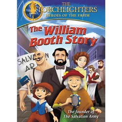 THE WILLIAM BOOTH STORY - DVD<br>The Founder of the Salvation Army