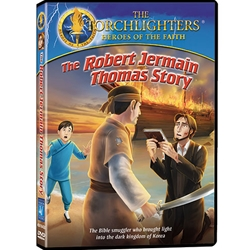 THE ROBERT JERMAIN THOMAS STORY - DVD<br>The Bible Smuggler Who Brought Light Into the Dark Kingdom of Korea