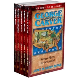 HEROES OF HISTORY<br>5-book gift set<br>Books 1-5