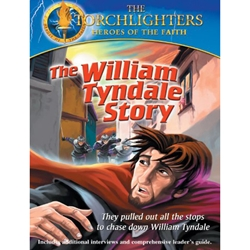 THE WILLIAM TYNDALE STORY - DVD<br>They pulled out all the Stops to Chase Down William Tyndale